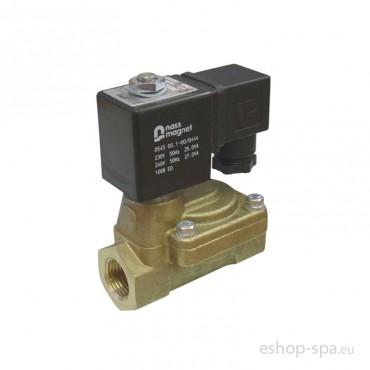 Elektromagnetický ventil dvojcestný nepriamo ovládaný