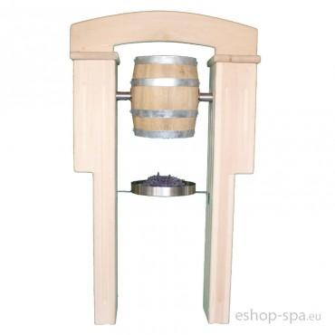 Mechanický kbelík do bylinkové kabiny - stojící