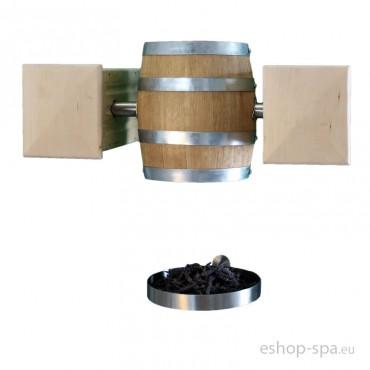 Mechanický kbelík do bylinkové kabiny - visící