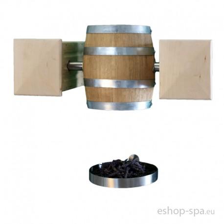 Mechanické vedierko do bylinkovej kabíny - visiace