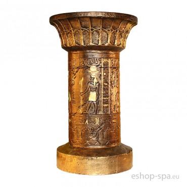 Okrúhly podstavec v dizajne Egypt 58cm