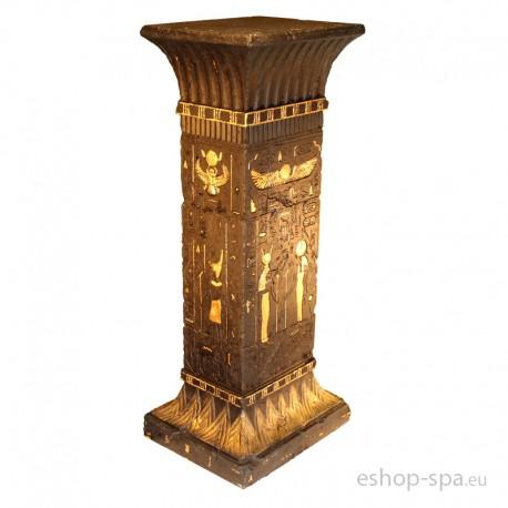 Štvorcový podstavec v dizajne Egypt 101cm