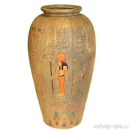 Váza v designu Egypt 64cm