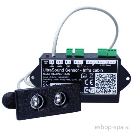 Ultra Sound senzor pre infra saunu