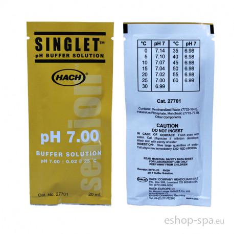 Kalibračný roztok pH 7,00 - 20ml vrecúško
